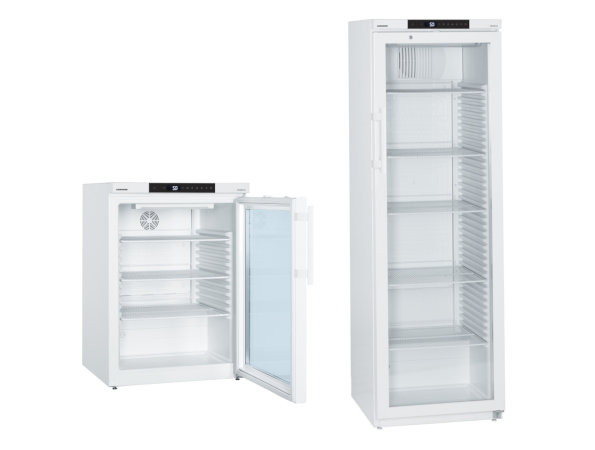 Laborkühlschränke mit Voll- oder Glastür